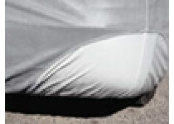Vinyl reinforced front corners reduce wear
